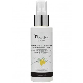 Spray Higienizante y Desinfectante Manos y Superficies de Nourish London 100ml