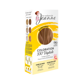 Tinte Vegetal Rubio Oscuro de Couleurs de Jeanne 2 x 50gr