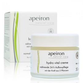 Crema Hydro Vital 24 Horas de Apeiron 50ml