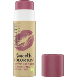 Bálsamo de labios con color 7g de Sante- Soft red