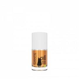 Base y esmalte de uñas top coat 2 en 1 de Sante 10ml.