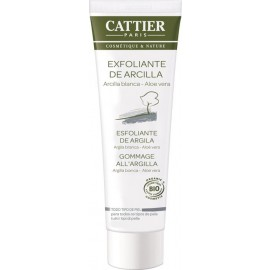Cattier Exfoliante Facial Arcilla Blanca 100ml