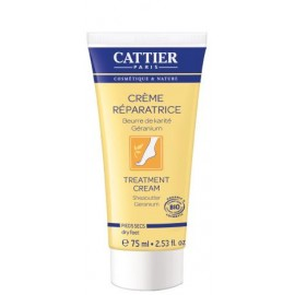 Cattier Crema Reparadora Pies 75ml.