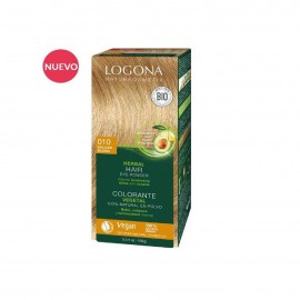 Colorante vegetal rubio dorado 010 de Logona (2x50gr)