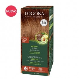 Colorante en Polvo Cobre Intenso (Flame Red) 040 Logona