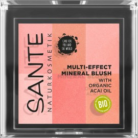 COLORETE MULTI EFFECT 6 TONOS 01 CORAL 8gr Sante