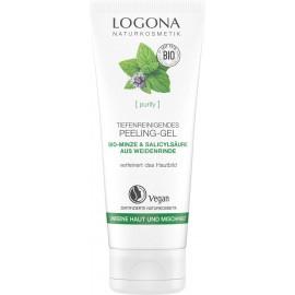Exfoliante Facial Menta & Acido Salicílico de Logona 100ml