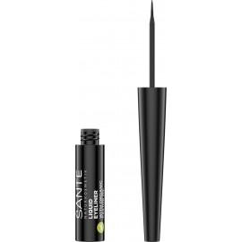 Eyeliner Perfilador Ojos black de Sante 3,5ml.