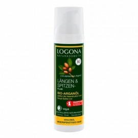 Fluido nutritivo puntas con argán de Logona 75ml