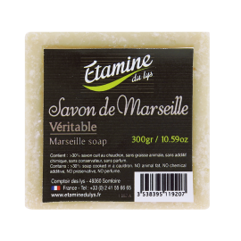 Jabón de Marsella Blanco de Etamine du Lys 300gr