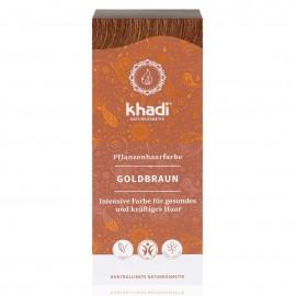 Khadi Tinte Vegetal Castaño Dorado 100 gr.
