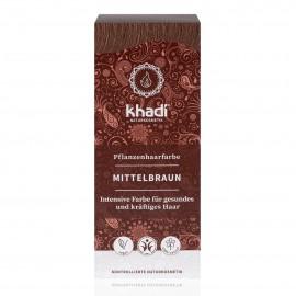 Khadi Tinte Vegetal Castaño Medio 100 gr.