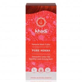 Tinte Vegetal Henna Pura ROJO 100% Herbal 100gr. Khadi