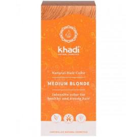 Khadi Tinte Vegetal Rubio Medio 100% Herbal 100gr.