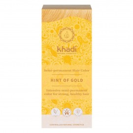 Khadi Tinte Vegetal Toque Dorado 100% Herbal 100gr.