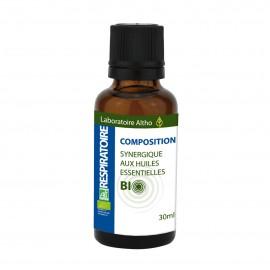 Composición de aceites esenciales Respiratorio de Altho 30ml
