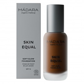 Maquillaje Base Skin Equal de Madara SPF 15,  30ml - Mocha #100