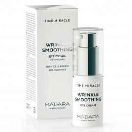 Mádara Time Miracle Wrinkle Resist Crema Contorno de Ojos 15ml.