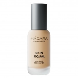 Maquillaje Base Skin Equal de Madara SPF 15,  30ml - Ivory #20