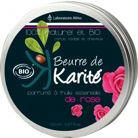 Manteca de karité con rosa 150ml Lab Altho