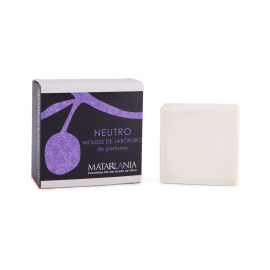 Mousse de Jabón neutro sin perfume de Matarrania 125gr