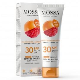Crema Facial SPF 30 Antioxidante de Mossa 50ml.