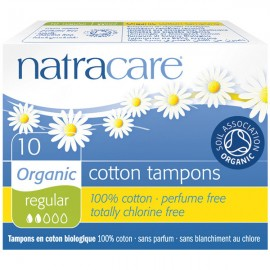 "Natracare Tampon ""Regular"" Sin Aplicador"