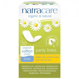 Natracare Protegeslip Natural Mini 30 Unidades