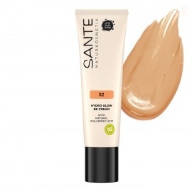 Maquillaje BB Hydro Glow 02 Medium-Dark 30ml Sante
