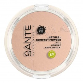 Maquillaje Compacto 01 Cool Ivory Sante 9gr