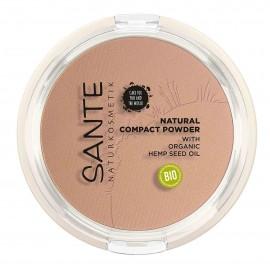 Maquillaje Compacto 02 Neutral Beige Sante 9gr