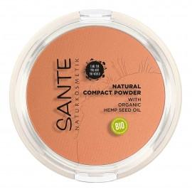 Maquillaje Compacto 03 Warm Honey Sante 9gr