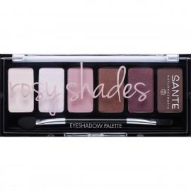Paleta 6 sombras de ojos pink de Sante