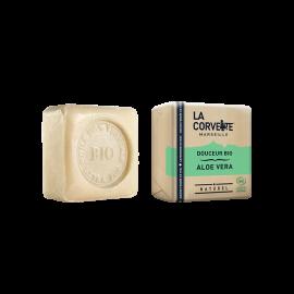 Jabón de Marsella y leche de burra - Aloe Vera de La Corvette 100g
