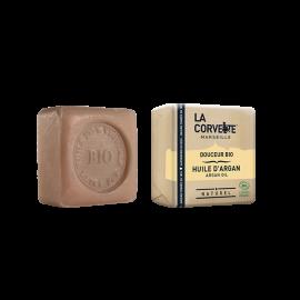 Jabón de Marsella y leche de burra - Argan de La Corvette 100g