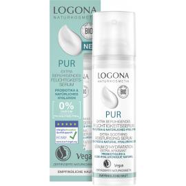 Sérum facial calmante probióticos & hialurónico PUR de Logona 30ml