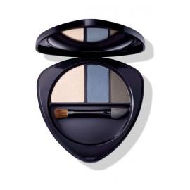Sombras de ojos en trío de Dr.Hauschka 4,4gr