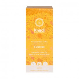 Tinte vegetal Rubio miel amanecer Khadi 100% herbal 100gr