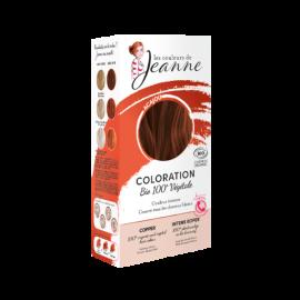 Tinte Vegetal Caoba de Couleurs de Jeanne 2 x 50gr.