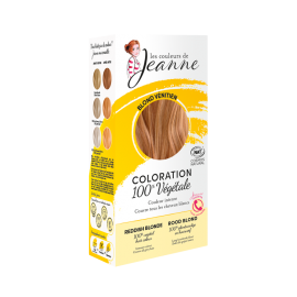 Tinte Vegetal Rubio Fresa de Couleurs de Jeanne 2 x 50gr.