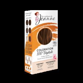 Tinte Vegetal Castaño de Couleurs de Jeanne 2 x 50gr.
