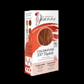 Tinte Vegetal Cobre Dorado  de Couleurs de Jeanne 2 x 50gr.