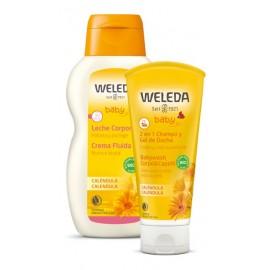 Pack Bebé Champú-Gel y Leche corporal de Weleda