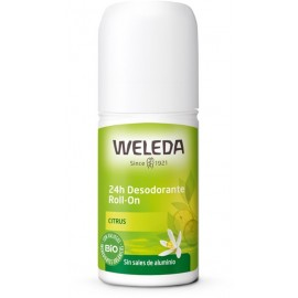 Desodorante Roll On Citrus 50ml de Weleda