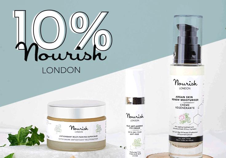 10% nourish london