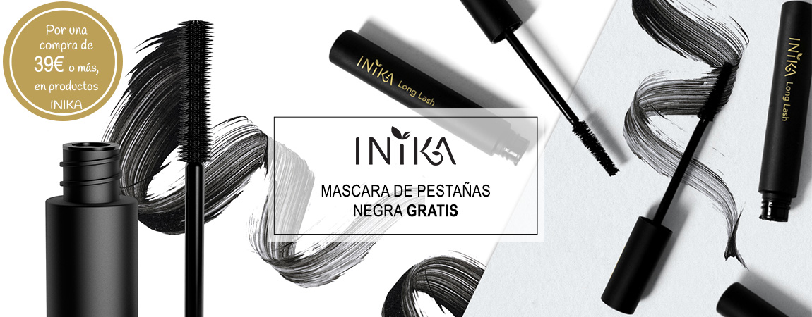 Por una  compra de 39€ o más, en productos INIKA