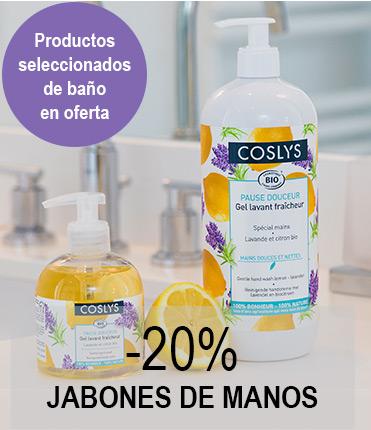Oferta  JABONES DE MANOS LAVANDA/LIMÓN  300ML /1L  -20%