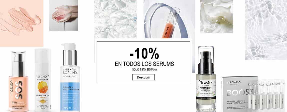 OFERTA -10% EN TODOS LOS SERUMS